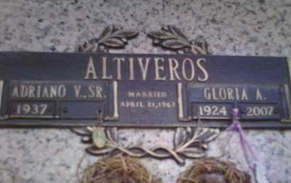 ALTIVEROS, ADRIANO VALDES - Yavapai County, Arizona | ADRIANO VALDES ALTIVEROS - Arizona Gravestone Photos