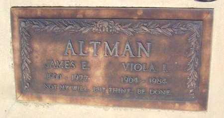 CALLAHAN ALTMAN, VIOLA I. - Yavapai County, Arizona | VIOLA I. CALLAHAN ALTMAN - Arizona Gravestone Photos