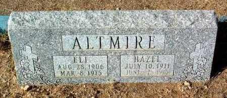 ALTMIRE, HAZEL - Yavapai County, Arizona | HAZEL ALTMIRE - Arizona Gravestone Photos