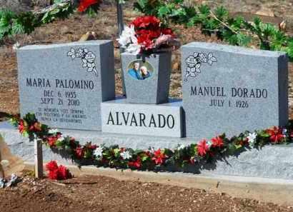 ALVARADO, MARIA - Yavapai County, Arizona | MARIA ALVARADO - Arizona Gravestone Photos