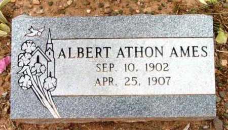 AMES, ALBERT ATHON - Yavapai County, Arizona | ALBERT ATHON AMES - Arizona Gravestone Photos