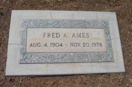 AMES, FRED A. - Yavapai County, Arizona | FRED A. AMES - Arizona Gravestone Photos