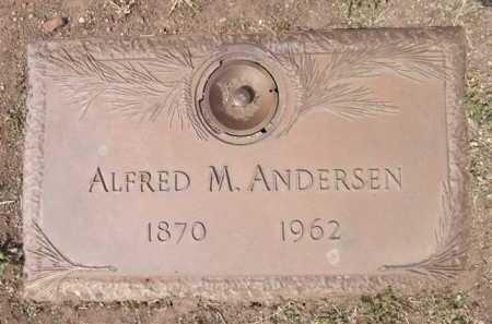 ANDERSEN, ALFRED M. - Yavapai County, Arizona | ALFRED M. ANDERSEN - Arizona Gravestone Photos