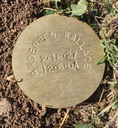 ANDERSEN, WALLACE - Yavapai County, Arizona | WALLACE ANDERSEN - Arizona Gravestone Photos