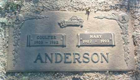ANDERSON, COULTER DAVID - Yavapai County, Arizona   COULTER DAVID ANDERSON - Arizona Gravestone Photos
