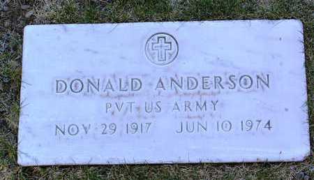 ANDERSON, DONALD C. - Yavapai County, Arizona   DONALD C. ANDERSON - Arizona Gravestone Photos