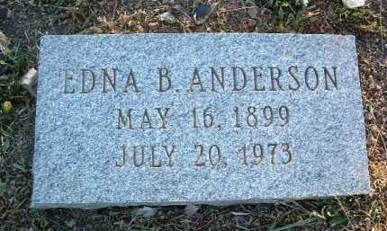 BIRD ANDERSON, EDNA - Yavapai County, Arizona | EDNA BIRD ANDERSON - Arizona Gravestone Photos