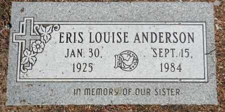 ANDERSON, ERIS LOUISE - Yavapai County, Arizona | ERIS LOUISE ANDERSON - Arizona Gravestone Photos