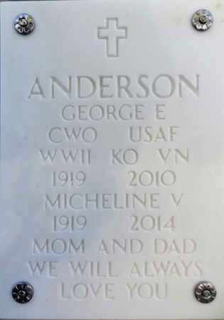 ANDERSON, MICHELLE V. - Yavapai County, Arizona | MICHELLE V. ANDERSON - Arizona Gravestone Photos