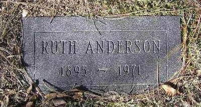 ANDERSON, RUTH - Yavapai County, Arizona | RUTH ANDERSON - Arizona Gravestone Photos
