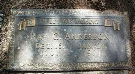 ANDERSON, RAYMOND C. - Yavapai County, Arizona   RAYMOND C. ANDERSON - Arizona Gravestone Photos