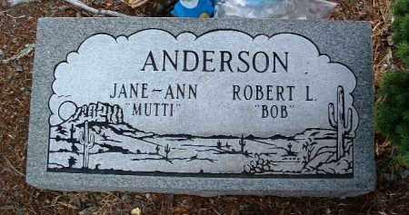 ANDERSON, ROBERT LESLIE - Yavapai County, Arizona   ROBERT LESLIE ANDERSON - Arizona Gravestone Photos