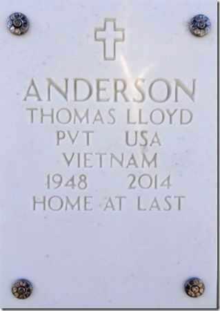 ANDERSON, THOMAS LLOYD - Yavapai County, Arizona | THOMAS LLOYD ANDERSON - Arizona Gravestone Photos