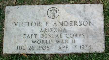 ANDERSON, VICTOR EDWIN - Yavapai County, Arizona | VICTOR EDWIN ANDERSON - Arizona Gravestone Photos