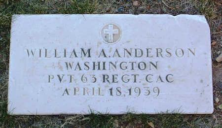 ANDERSON, WILLIAM ALEC - Yavapai County, Arizona   WILLIAM ALEC ANDERSON - Arizona Gravestone Photos