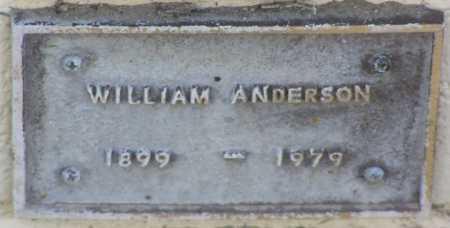 ANDERSON, WILLIAM A - Yavapai County, Arizona | WILLIAM A ANDERSON - Arizona Gravestone Photos