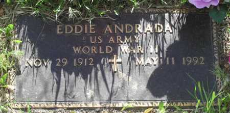 ANDRADA, EDDIE - Yavapai County, Arizona | EDDIE ANDRADA - Arizona Gravestone Photos