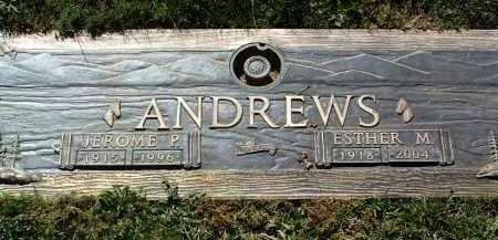 ANDREWS, ESTHER MAY - Yavapai County, Arizona | ESTHER MAY ANDREWS - Arizona Gravestone Photos