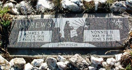 ANDREWS, NONNIE HAZEL - Yavapai County, Arizona | NONNIE HAZEL ANDREWS - Arizona Gravestone Photos
