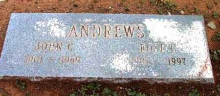 ANDREWS, ROSE C. - Yavapai County, Arizona | ROSE C. ANDREWS - Arizona Gravestone Photos