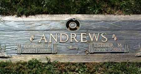 ANDREWS, JEROME P. - Yavapai County, Arizona | JEROME P. ANDREWS - Arizona Gravestone Photos