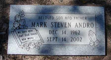 ANDRO, MARK STEVEN - Yavapai County, Arizona | MARK STEVEN ANDRO - Arizona Gravestone Photos