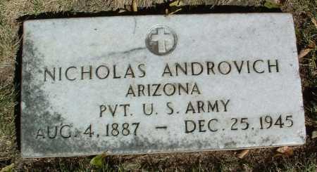 ANDROVICH, NICHOLAS - Yavapai County, Arizona   NICHOLAS ANDROVICH - Arizona Gravestone Photos