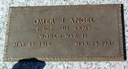 ANGEL, OMER J. - Yavapai County, Arizona | OMER J. ANGEL - Arizona Gravestone Photos