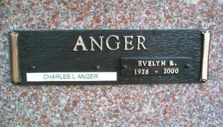 ANGER, CHARLES L. - Yavapai County, Arizona   CHARLES L. ANGER - Arizona Gravestone Photos