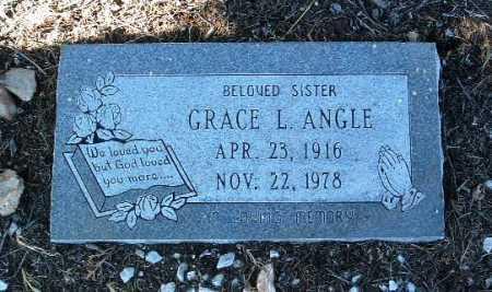 ANGLE, GRACE L. - Yavapai County, Arizona | GRACE L. ANGLE - Arizona Gravestone Photos