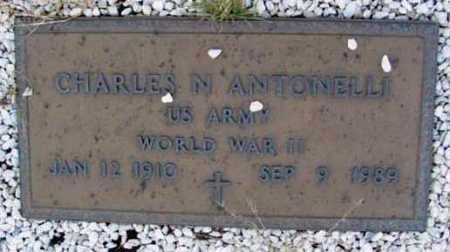 ANTONELLI, CHARLES N. - Yavapai County, Arizona   CHARLES N. ANTONELLI - Arizona Gravestone Photos