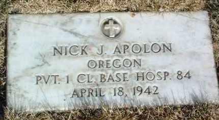 APOLON, NICK JAMES - Yavapai County, Arizona | NICK JAMES APOLON - Arizona Gravestone Photos
