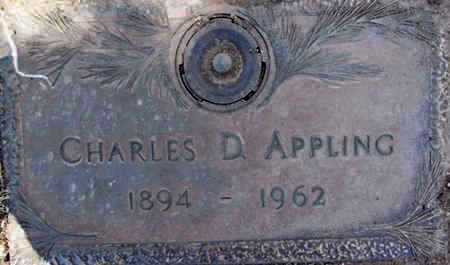 APPLING, CHARLES D. - Yavapai County, Arizona | CHARLES D. APPLING - Arizona Gravestone Photos