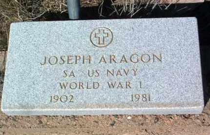 ARAGON, JOSEPH - Yavapai County, Arizona | JOSEPH ARAGON - Arizona Gravestone Photos