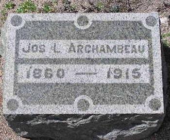 ARCHAMBEAU, JOSEPH L. - Yavapai County, Arizona | JOSEPH L. ARCHAMBEAU - Arizona Gravestone Photos