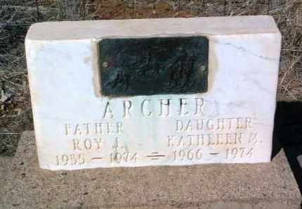 ARCHER, KATHLEEN M. - Yavapai County, Arizona | KATHLEEN M. ARCHER - Arizona Gravestone Photos