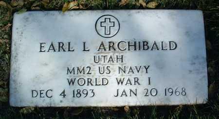 ARCHIBALD, EARL LEE - Yavapai County, Arizona   EARL LEE ARCHIBALD - Arizona Gravestone Photos