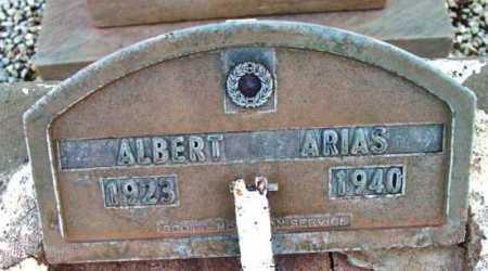ARIAS, ALBERT - Yavapai County, Arizona   ALBERT ARIAS - Arizona Gravestone Photos