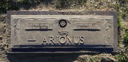 ARIONUS, DALE GILMORE - Yavapai County, Arizona | DALE GILMORE ARIONUS - Arizona Gravestone Photos