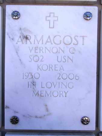 ARMAGOST, VERNON C. - Yavapai County, Arizona | VERNON C. ARMAGOST - Arizona Gravestone Photos
