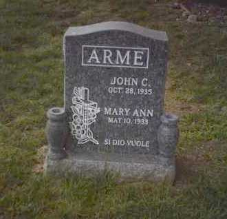 ARME, MARY ANN - Yavapai County, Arizona | MARY ANN ARME - Arizona Gravestone Photos