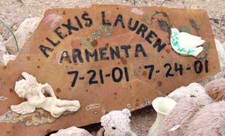 ARMENTA, ALEXIS LAUREN - Yavapai County, Arizona | ALEXIS LAUREN ARMENTA - Arizona Gravestone Photos