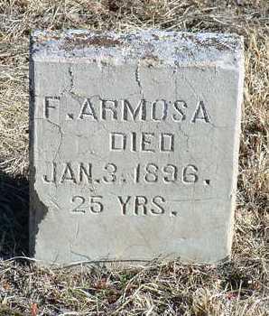 ARMOSA, F. - Yavapai County, Arizona | F. ARMOSA - Arizona Gravestone Photos