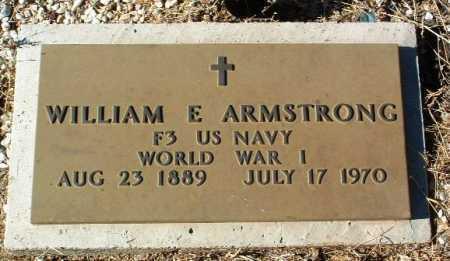 ARMSTRONG, WILLIAM E. - Yavapai County, Arizona | WILLIAM E. ARMSTRONG - Arizona Gravestone Photos