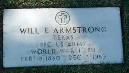 ARMSTRONG, WILLIAM ESKIN (WILL). - Yavapai County, Arizona | WILLIAM ESKIN (WILL). ARMSTRONG - Arizona Gravestone Photos