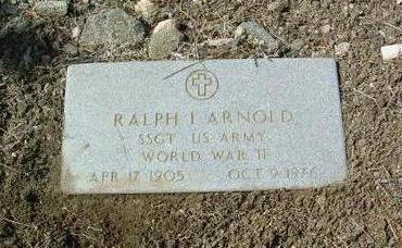 ARNOLD, RALPH ISHMAL - Yavapai County, Arizona | RALPH ISHMAL ARNOLD - Arizona Gravestone Photos