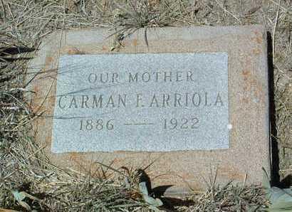 FERRA ARRIOLA, CARMEN - Yavapai County, Arizona | CARMEN FERRA ARRIOLA - Arizona Gravestone Photos