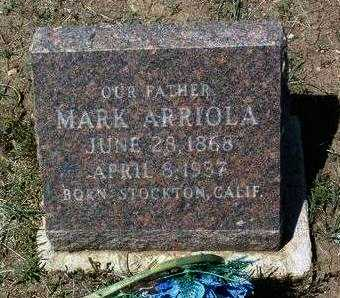 ARRIOLA, MARCOS (MARK) - Yavapai County, Arizona | MARCOS (MARK) ARRIOLA - Arizona Gravestone Photos