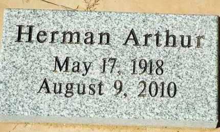 ARTHUR, HERMAN L. - Yavapai County, Arizona | HERMAN L. ARTHUR - Arizona Gravestone Photos