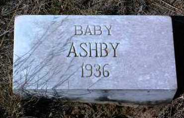 ASHBY, INFANT - Yavapai County, Arizona | INFANT ASHBY - Arizona Gravestone Photos